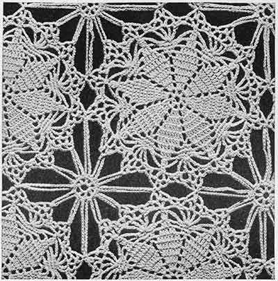 Lucky Star Bedspread Pattern #644 swatch | bedspreads | Pinterest