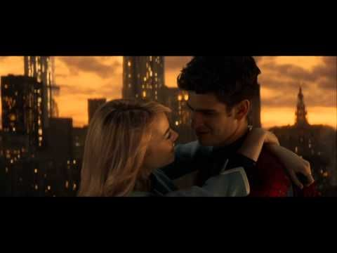 The Amazing Spider Man 2 Peter And Gwen Love Scene Youtube