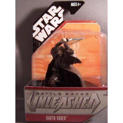 Star Wars Unleashed Battle Pack Singles Darth Vader (Anakin) Action Figure