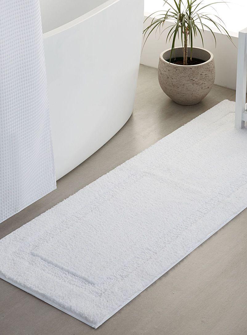 Double Sink Square Border Mat 50 X 150 Cm Simons Maison Shop Solid Colour Bath R Minimalist Interior Living Room Minimalist Decor Diy Minimalist Home Decor [ 1086 x 802 Pixel ]