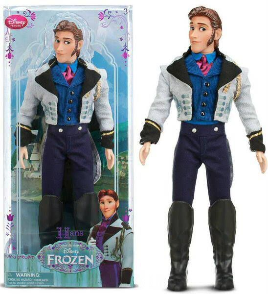 Disney First Release Classic Frozen Doll Hans New in Box!