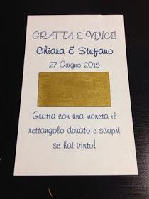 Segnaposto Matrimonio Gratta E Vinci.Biru Co Gratta E Vinci Fai Da Te Scherzi Da Matrimonio
