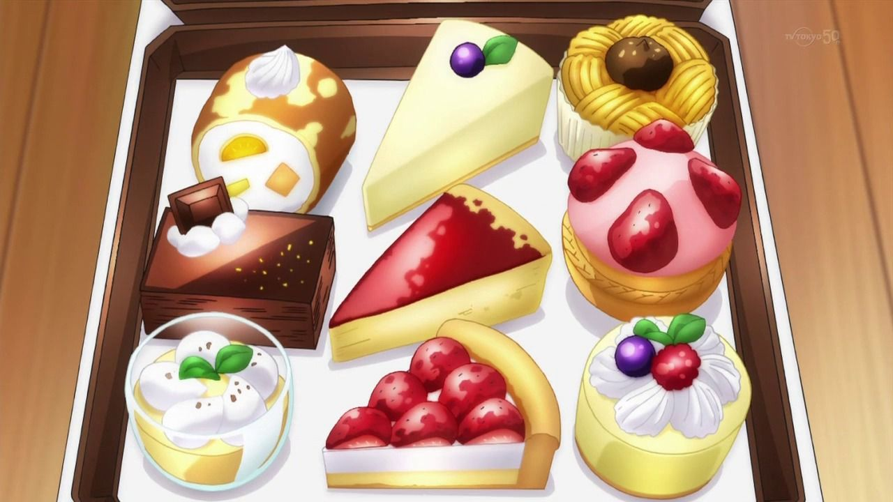 Anime food with images food illustrations kawaii food