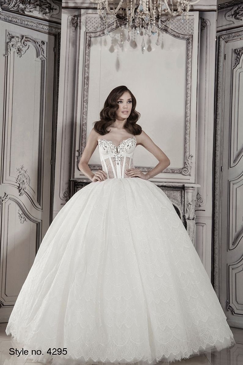 KleinfeldBridal.com: Pnina Tornai: Bridal Gown: 32926198: Princess ...