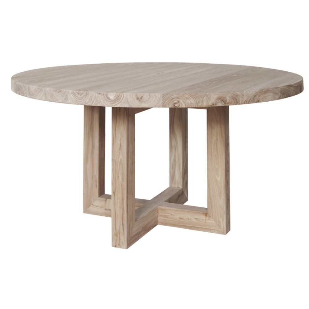 The Bondi Round Wooden Dining Table Urban Couture Designer Homewares Furniture Online Dining Table Round Dining Table Circular Dining Table