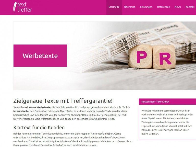 #Startup vorgestellt: text-treffer Zielgruppengerechte, SEO-optimierte Texte
