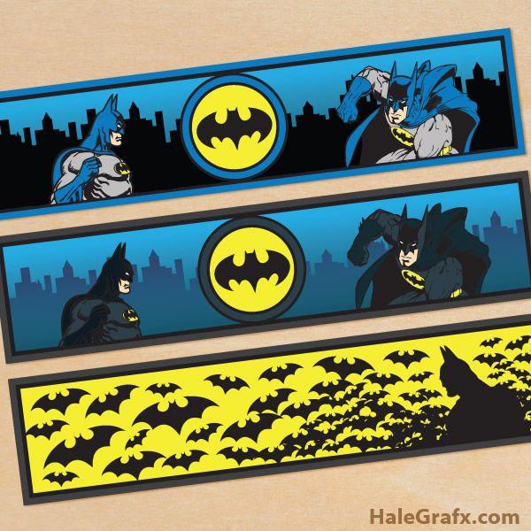 Superhero Printables In 2020 Batman Party Batman Birthday
