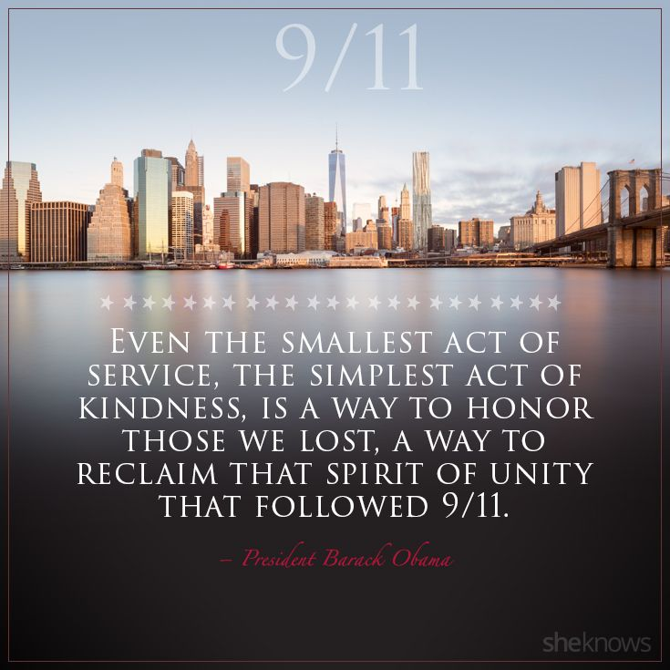 Even the smallest act of service, the smallest act of