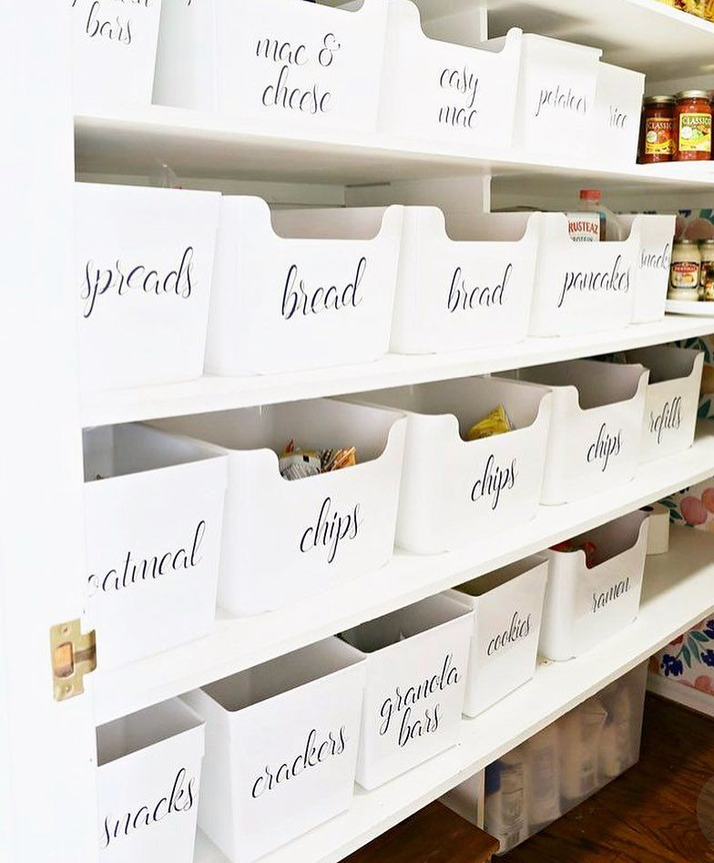Tidee On Instagram Pantry Inspo Get The Look Using The Ever Versatile Variera Tubs From Ikea Australia And F Ikea Australia Ikea Pantry Diy Pantry Labels