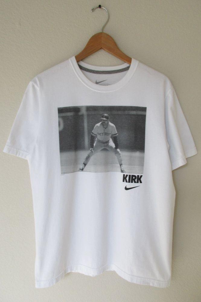 buy popular 3c7f5 d8bf7 Kirk Gibson Throwback T-Shirt Nike Vintage Detroit Tigers ...