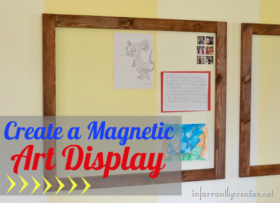 Magnetic Wall For Kid S Art Display
