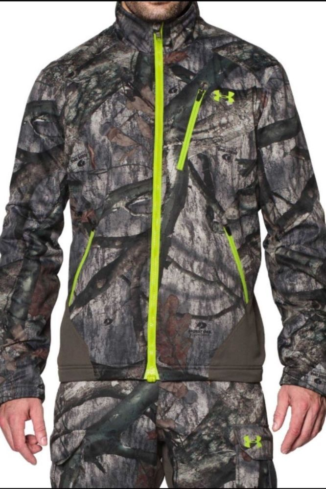 7c101f2e769d3 Under Armour Storm 2 Scent Control Barrier Jacket Mossy Oak Trees MSRP $150  NEW   Sporting Goods, Hunting, Clothing, Shoes & Accessories   eBay!