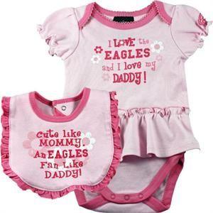 f31a52027 Eagles Pink Onesie Dress #baby #infant #eagles #Philadelphia | baby ...