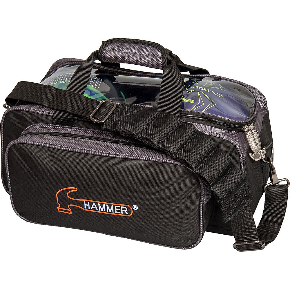 Hammer Premium Double Bowling Tote Bags Bowling Bags Orange Bag