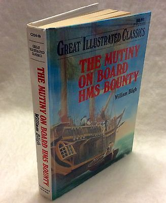 Great-Illustrated-Classics-The-Mutiny-on-the-Bounty-Near-mint-1992