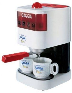 Pretend Play Toy Baby Gaggia Working Espresso Machine