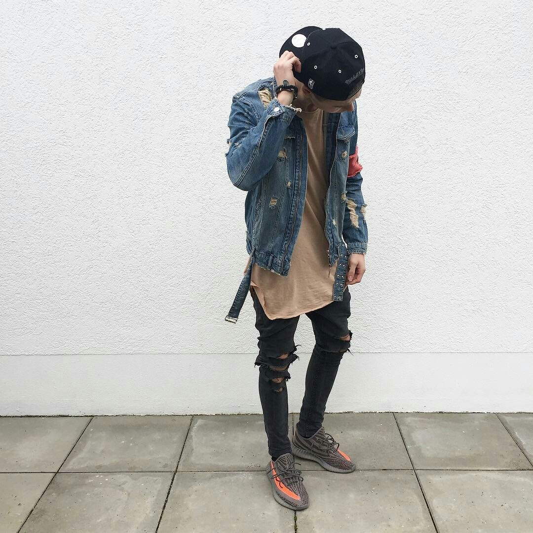 creative streetwear outfits for men