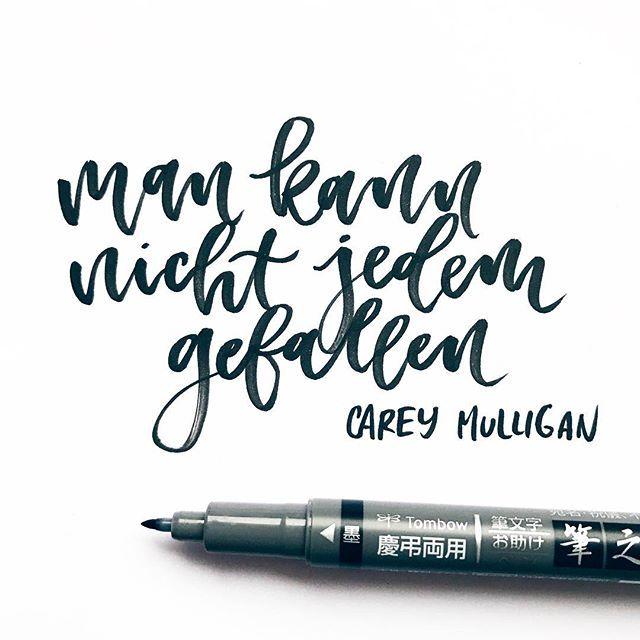 Lettering, mondays, modern calligraphy, typography, brush lettering