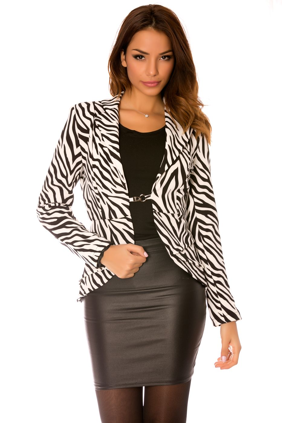 Jacken damen zebra