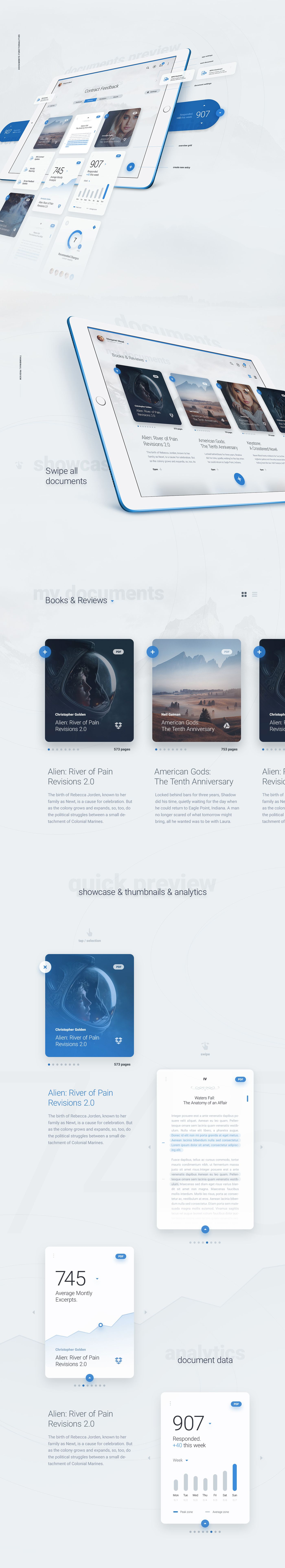 LiquidPro - Interface Kit - Boxes - PSD Download
