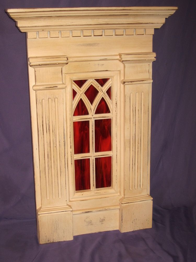 Attractive Cathedral Window Frame Wall Decor Ornament - All About ...