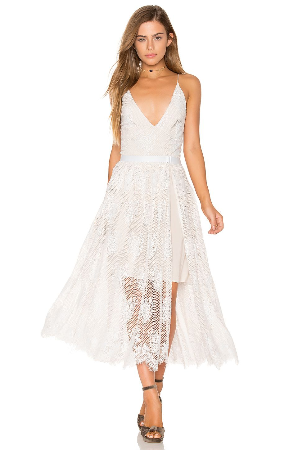 a3d2bef53800 FREE PEOPLE MATCHPOINT MIDI LACE DRESS. #freepeople #cloth # | Free ...