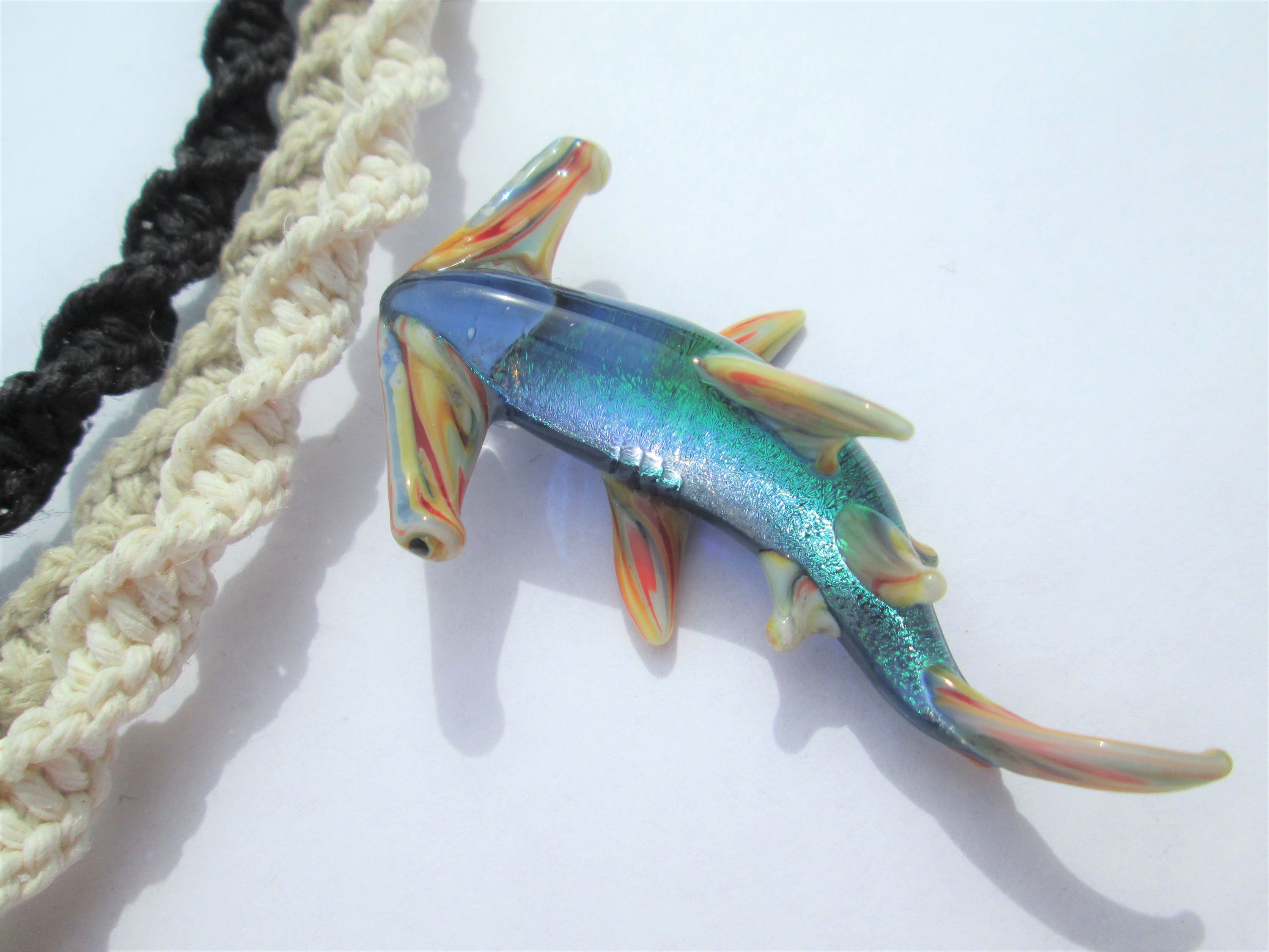 copper s c shark hammerhead necklace stt treats products sarah pin lapel antiqued