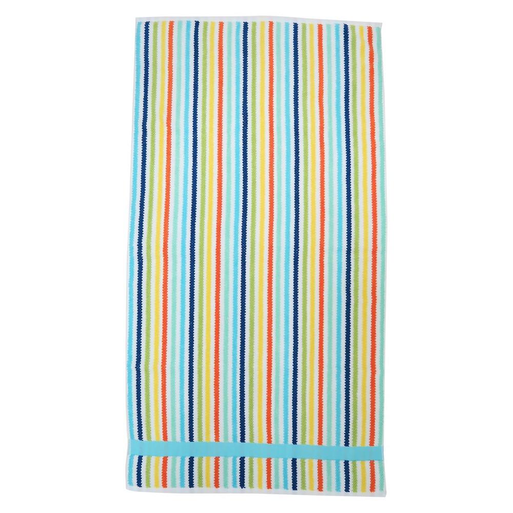 Striped Bath Towels Pillowfort Molokai Blue Striped Towels