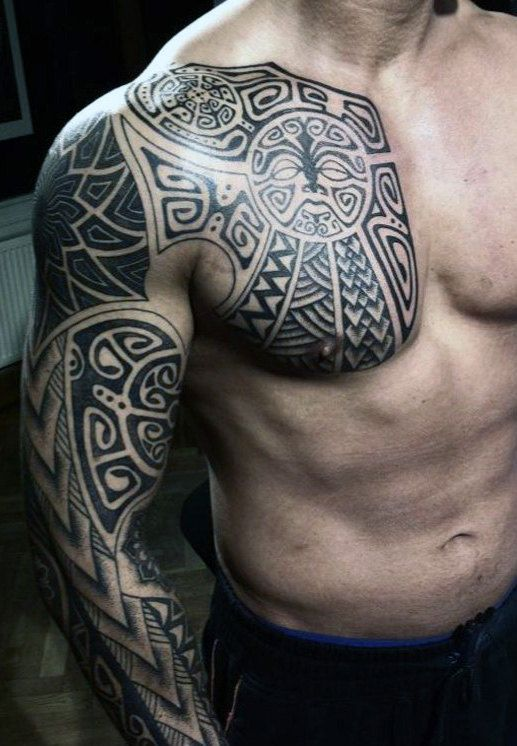 Top 107 Sleeve Tattoo Ideas 2020 Inspiration Guide Tribal Tattoos For Men Cool Tribal Tattoos Mens Shoulder Tattoo