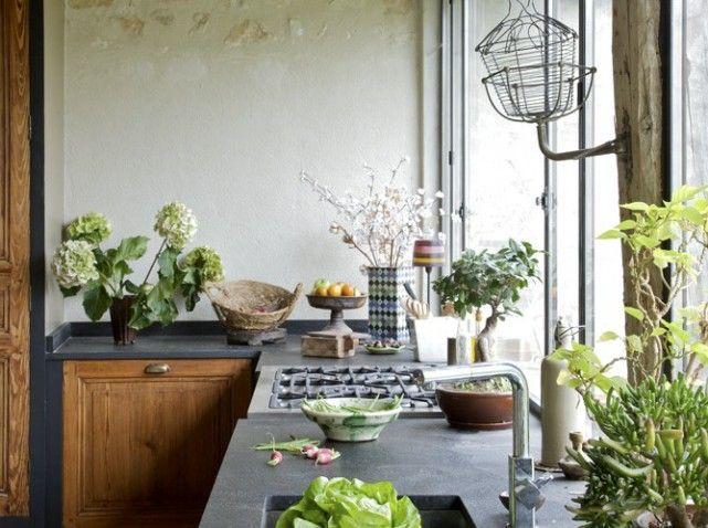 3 Plan de travail de la cuisine du0027une maison de campagne d