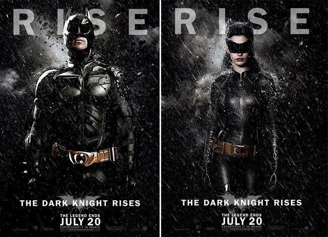 Seis Novos Posteres De Batman O Cavaleiro Das Trevas Ressurge