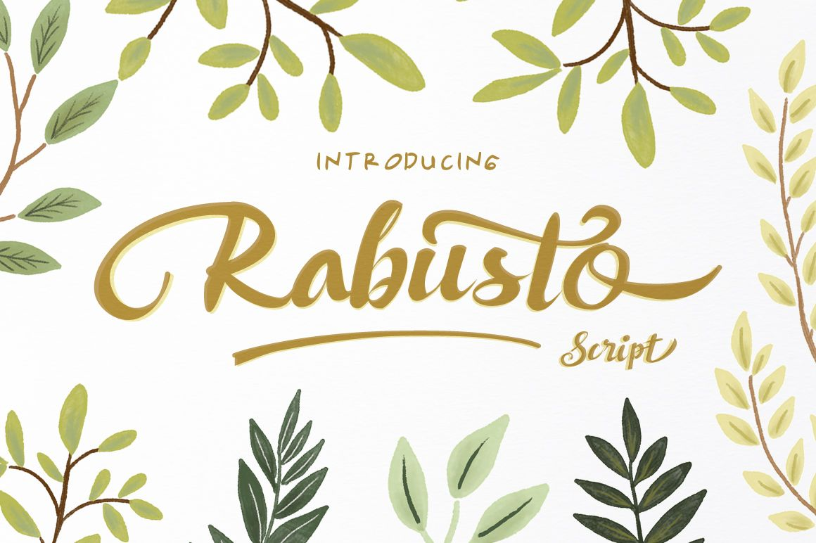 Rabusto Script by Fam.Co on @creativemarket