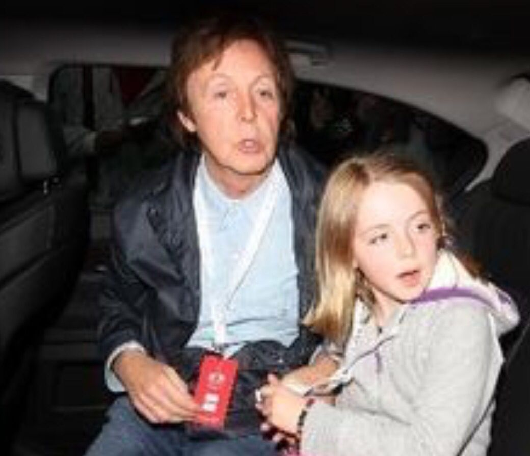 Pauls Daughter With Heather Mills Beatrice