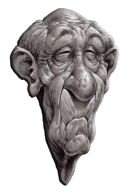 Old Face رجل كبير Character Design Sketches Old Faces