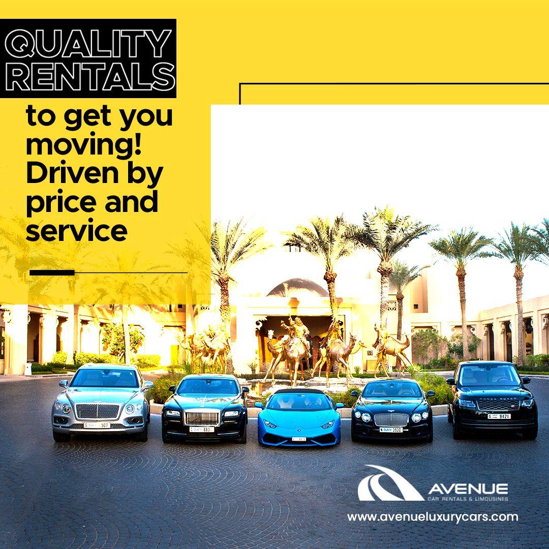 Luxury Car Rental In Dubai Uae Avenue Rent A Car In 2020