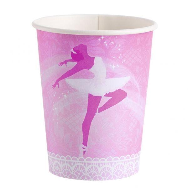 Si a tu peque le gusta el ballet, una fiesta de cumpleaños de bailarinas puede ser una buena sorpresa! Ya tenemos la colección completa con un montón de accesorios para decorar, como estos vasos tan bonitos  #decoracionfiestas #fiestastematicas #ballet #bailarina #cumpleañosbailarina #cumpleañosballet #fiestasbonitas #birthdaydecorations #decoracioncumple #balletparty #balletbirthday
