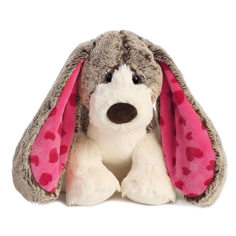 "10"" Puppy Dog ""Lots of Love"" Aurora Plush Stuffed Animal"