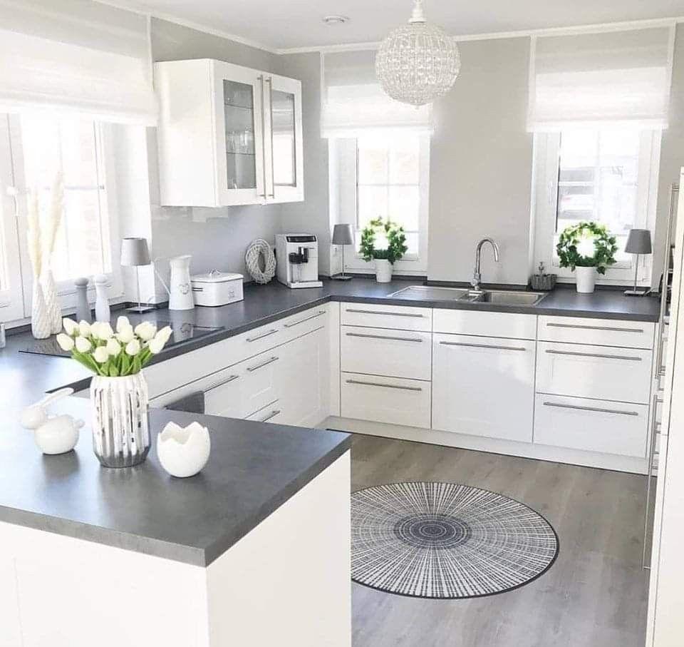 Combinación de colores  Haus küchen, Wohnung küche, Küchendesign