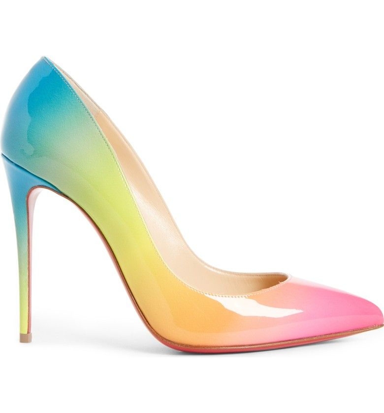 huge discount 5aaed 8d201 Rainbow Pigalle Follies Pump, Alternate, color, Rainbow ...