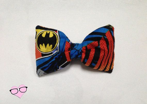 Batman Symbol Hair Bow by NerdsWithVaginas on Etsy, $5.00