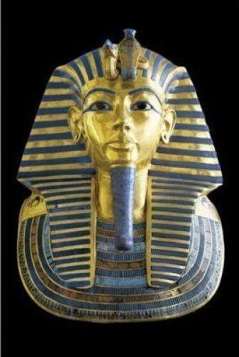KING TUT POSTER 24x36 SHRINK WRAPPED BUST EGYPT PHARAOH 1337 TUTANKHAMUN