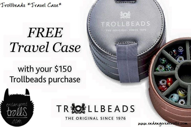 Trollbeads travel case promotion!