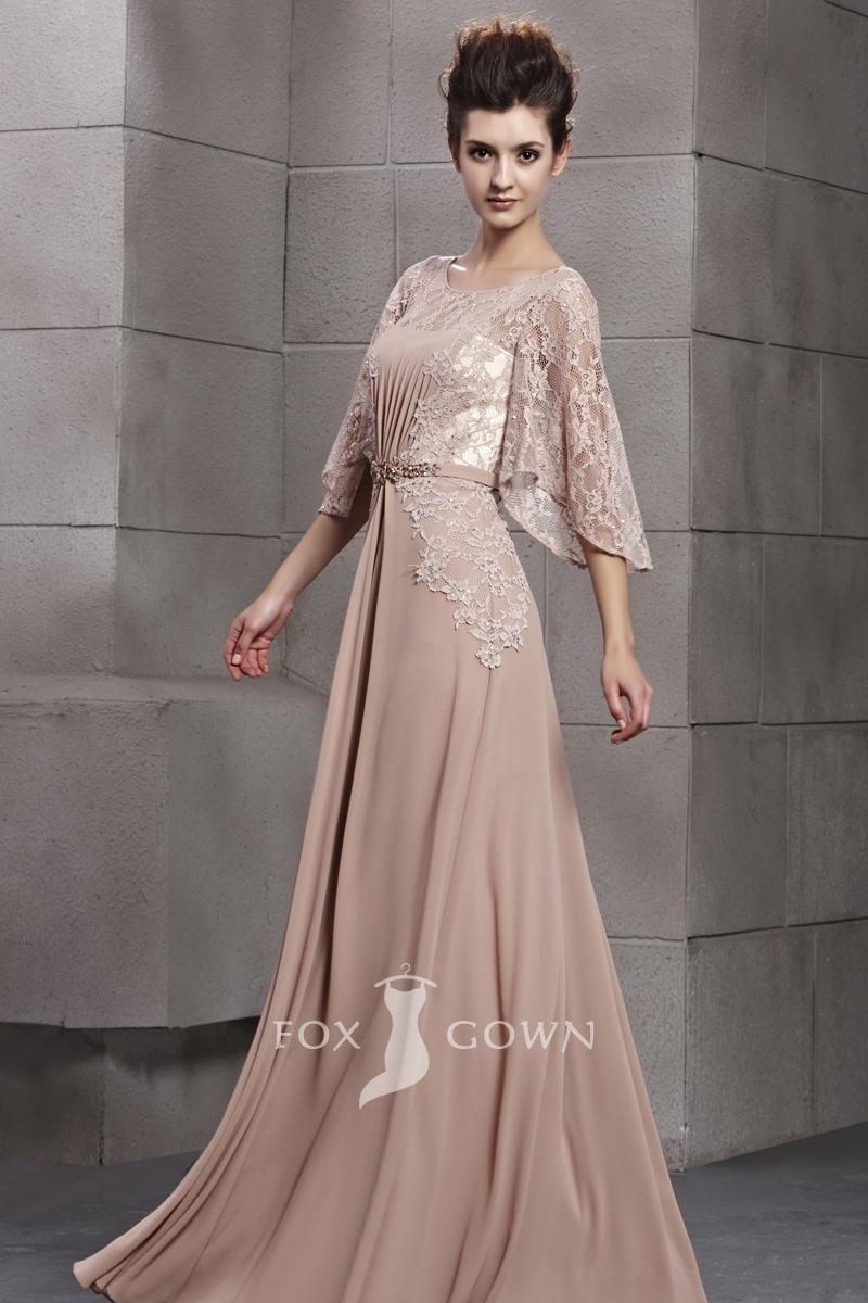 Lace formal dresses floor length