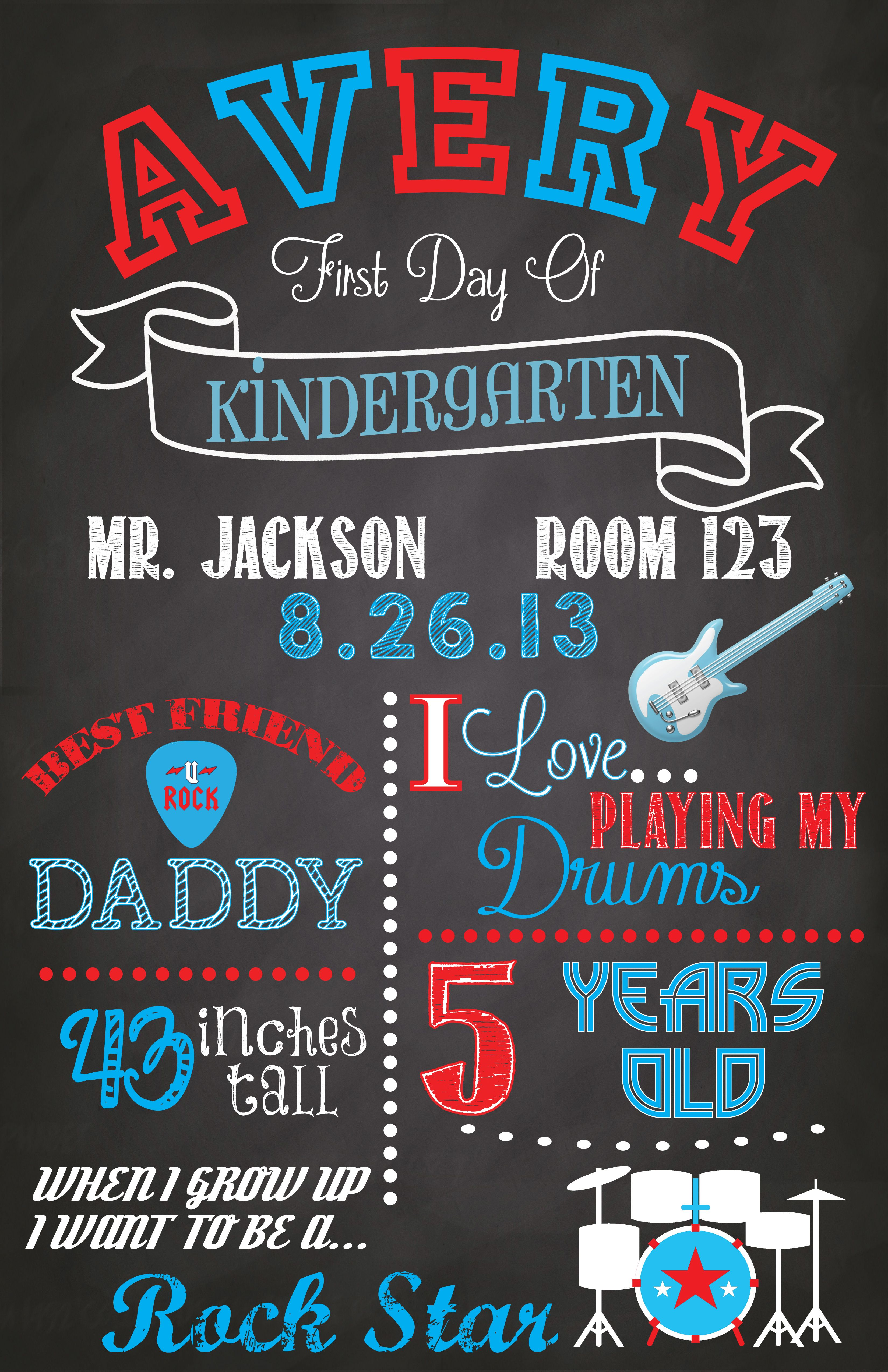 Primitive By Kathy First Day Of School Chalkboard Sign 8 X 10.5