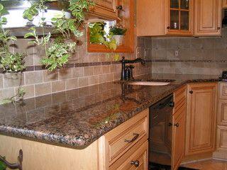 Best Baltic Brown Granite Tile Backsplash Brown Granite 400 x 300