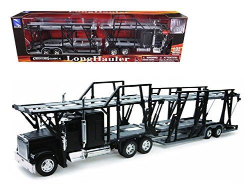 Features Freightliner Classic Xl Car Carrier 132 Diecast Model Detailed Interior Exterior Cabin Is Metal The Freightliner Classic Diecast Trucks Car Carrier