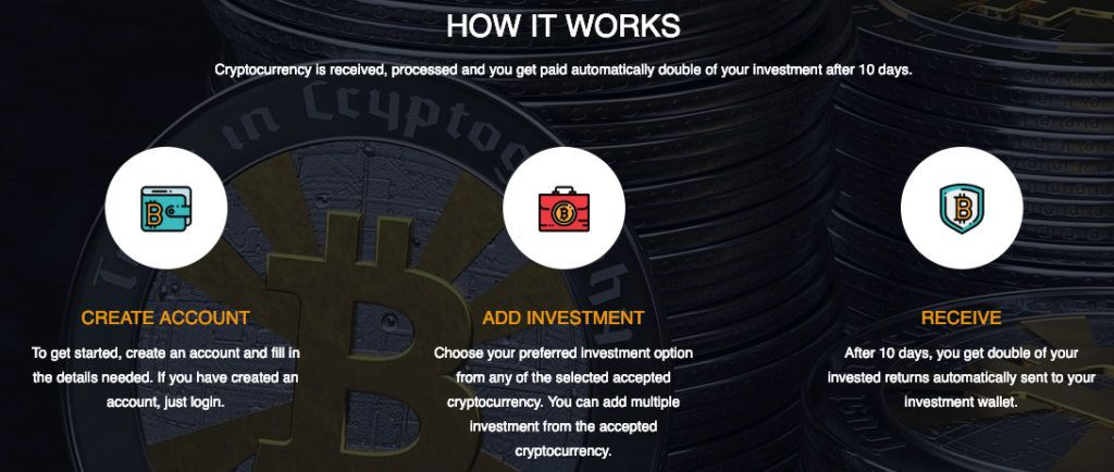 investment related to cryptocurrency