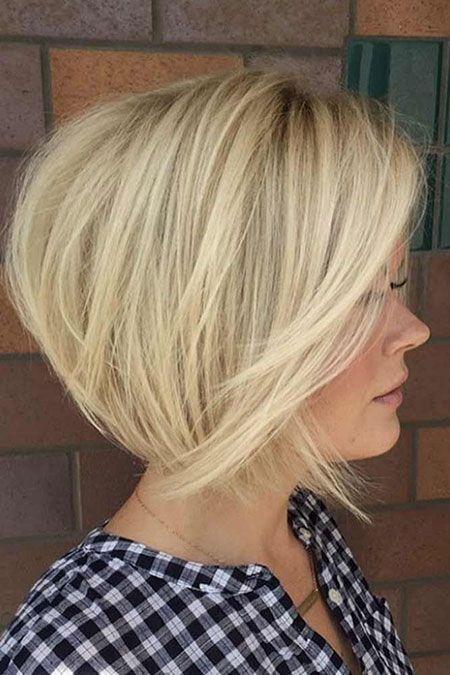 Blonde Short Bob Coupe de cheveux, Coiffure et Coiffure