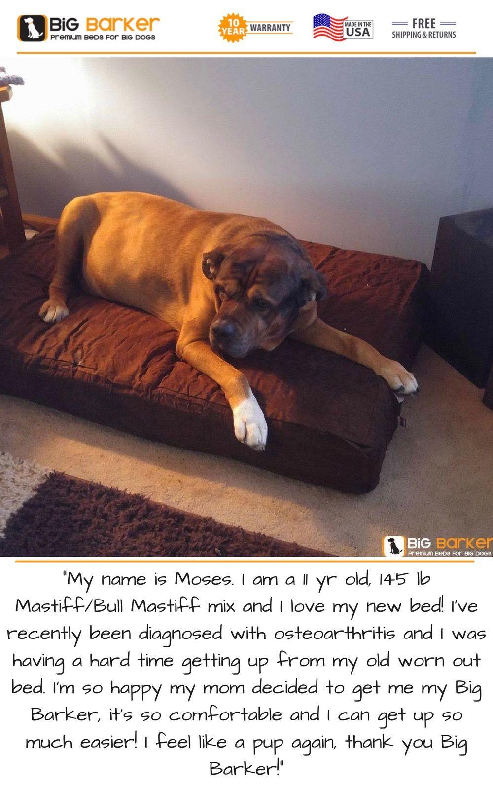 Orthopedic Dog Beds for Large & Extra Large Dogs Mastiff