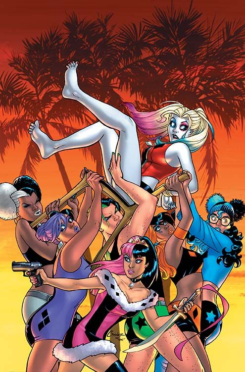 Harley Quinn and Her Gang of Harleys #6 Cover by Amanda Conner